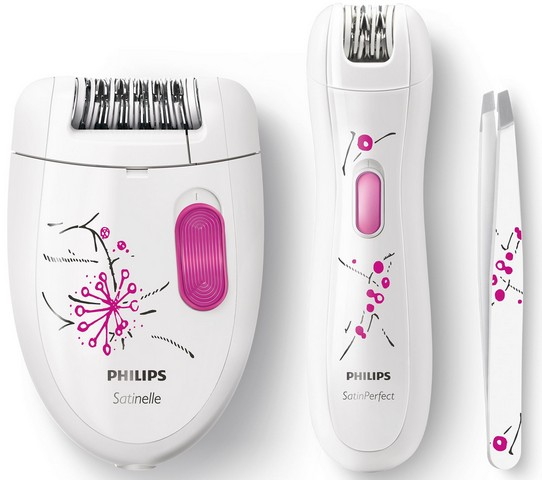 Philips Satinelle Essential HP6550-01 pachet complet