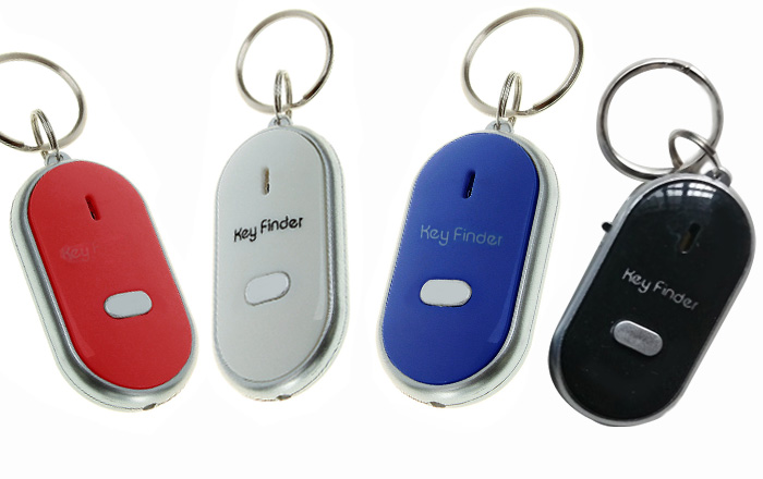 Whistle Key Finder Key Tracker Anti-lost with Flash